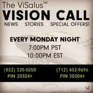 Join us to hear how ViSalus is making it even easier for us to be successful! Listen in then join my team at www.healthy4you.bodybyvi.com